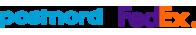 Postnord & FedEx Logo