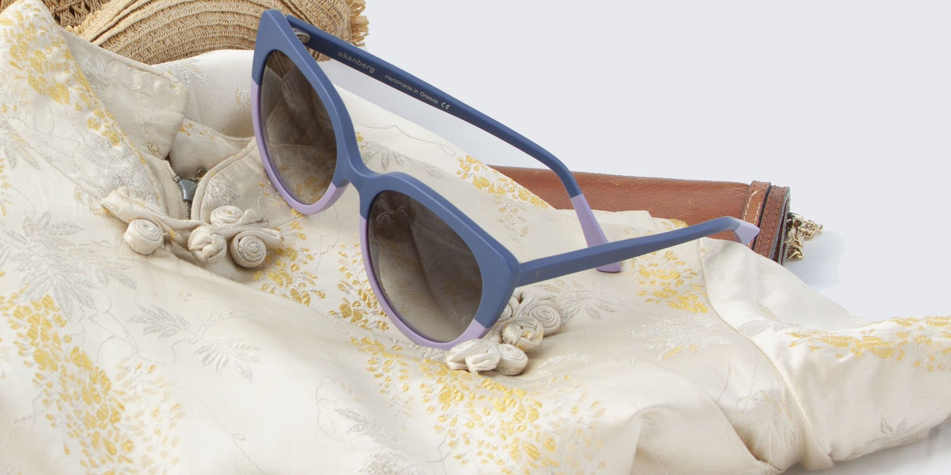 akenberg Tarendo sunglasses denimblue beaver