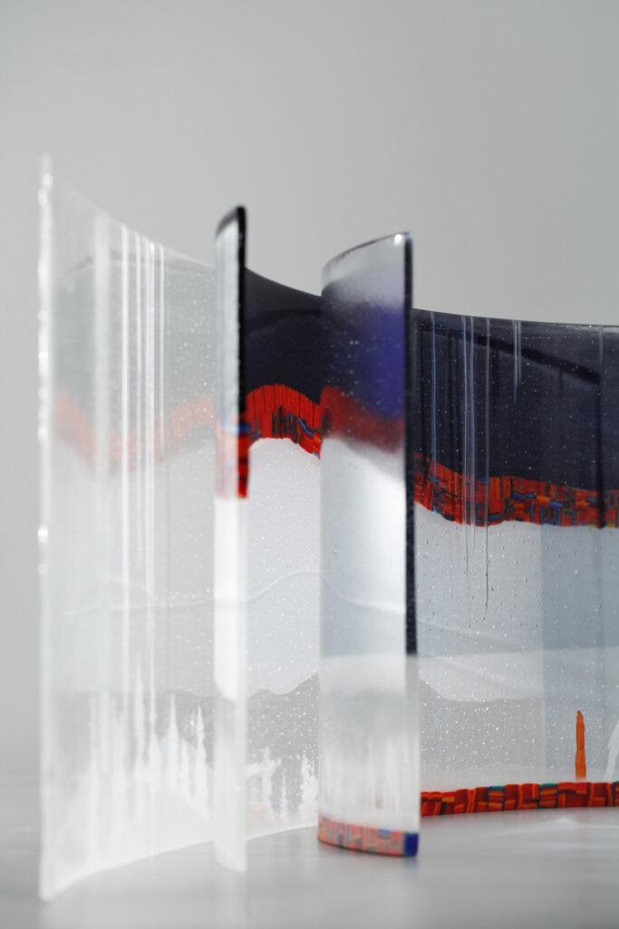 Monica L Edmondson Equilibrium glass art