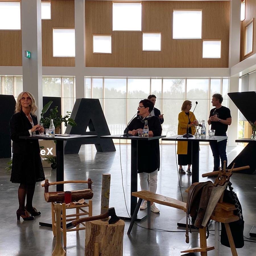 Lotta Ahlvar at Formex, Stockholm