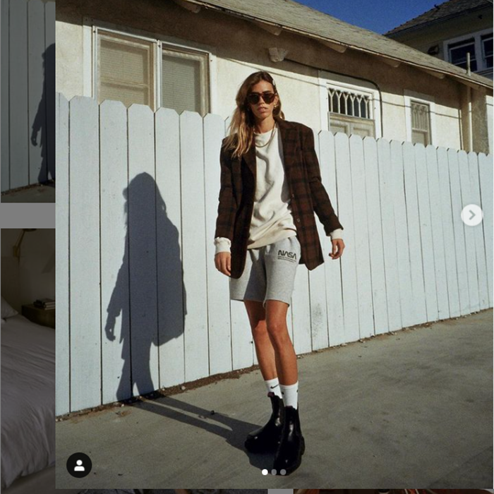 @chasingkendall wearing Kallax sunglasses