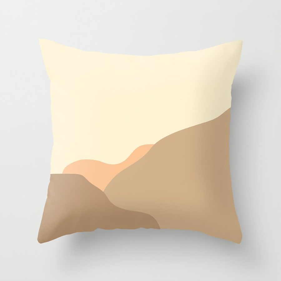 Dunes pillow by Peter Valcarcel